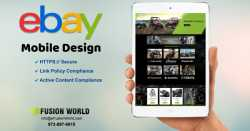 eBay Mobile Design is The Future of Shopping Market
